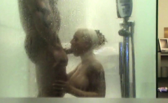 young german couple hidden filmed by privat fuck in shower