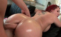 Dirty redhead would do anything for an anal