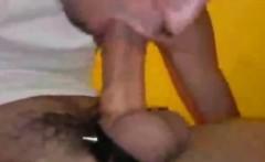 Hot BF Selfsuck and Huge Cumshot!
