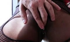 Sexy Ebony Diamond Jackson Ass Played By Boyfriend