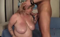 Big titted BBW Kali Kala Lina rides a fat cock