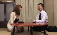 Gorgeous Japanese lady Jun Kusanagi is ready for two nice