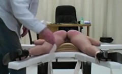 Bent Over And Caned By Teacher