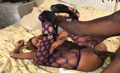 Sinnamon Love is a black beauty who loves getting all the bi