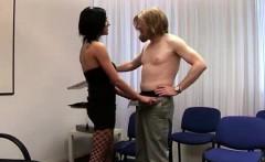 amateur gets handjob from naughty british cfnm nurses