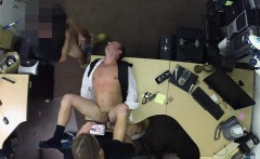 Gay ass dude enjoy doggystyle threesome