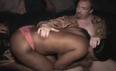 Black Slut Sucks Off Entire Porn Theater
