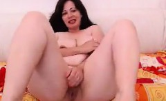 Fat Slut Strips And Rubs Her Pussy