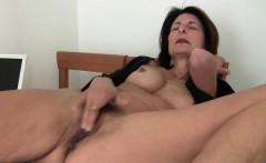 grandma takes care of her orgasmic needs