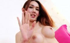 Sexy Asian ladyboy Muay solo tease.visit tsplaygroundz.com