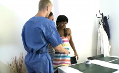 Doc assists with hymen physical and defloration of virgin ny