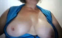 Mature BBW milf and live on my home webcam