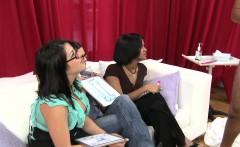 Funny porn as women examine mens cocks