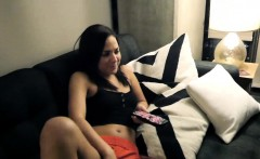 Perky nippled hot teen chick Amara Romani agreed to be