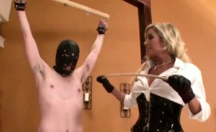Britney spanks the heck out of a guy