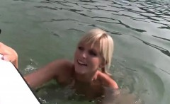 Outdoor Sex with a Beautiful Blonde