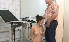 Skinny Chick Gets Fingered Then Sucks Cock