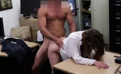 Lovely business lady gets her pussy pounded by a dick