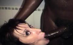 Big boobed matures share a big black cock