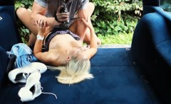 flirty hitchhiker teen jessie sinclair fucked in the public
