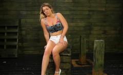 Busty babe Jenna Ashley wants to try bondage sex action