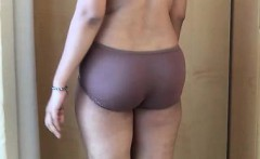 Naked WIfe Banged By Husband While Standing Mms