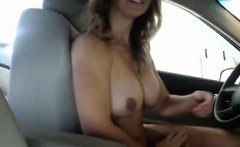 gorgeous and lustful blonde milf strips off her tight dress