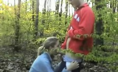 Amateur Teen Couple Having Sex In The Woods