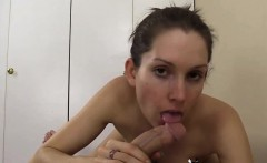 Riding Cowgirl Orgasms And Is Creampied