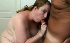 horny bbw vamp nichole wraps her lips over a thick cock and gets fucked doggy style