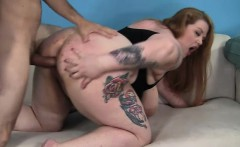 Wild plumper Bailey Belle enjoys her first experience with a hung guy