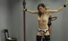 Pleasing Girl Gets A Flogging