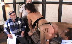Husbands watch a wife suck and fuck another to see if they want to do it too