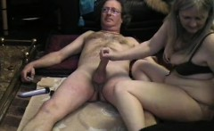 Puffy milf with large butt trips a tough dick seriously