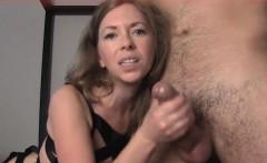 Dazzling Cougar enjoying a young dick