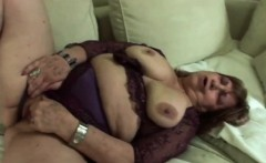 Mature slut fucked deep in POV action with a young prick