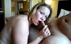 hot fat blonde slut stroking penis that is hard and gets po