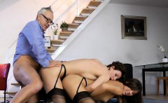 British milf shares cock with gorgeous babe