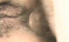 Pair that is hairy does some anal fucking that is delicious