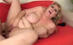 Full Figured blonde fucked