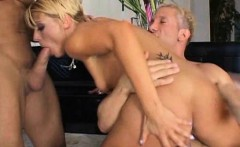 Slut busy humping cock and sucking another