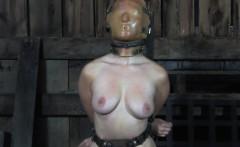 Hardcore sub slave pussy punished till orgasm