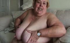 Very big grandma show her very big ass