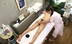 Sweet Japanese lady with a lovely ass is in need of a relax
