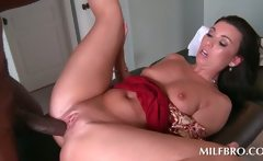 Hot MILF mouth and twat fucks pecker