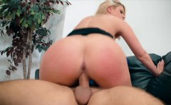 Sexy female boss with huge tits gets fucked by an employee
