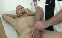 Doctor exam erotic gay sex and male doctor jerk off his pati