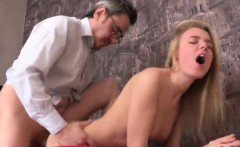 nice schoolgirl is teased and banged by her aged teacher
