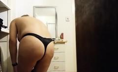 milf caught undressing
