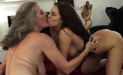 lesbian beauty licking classy grannys pussy